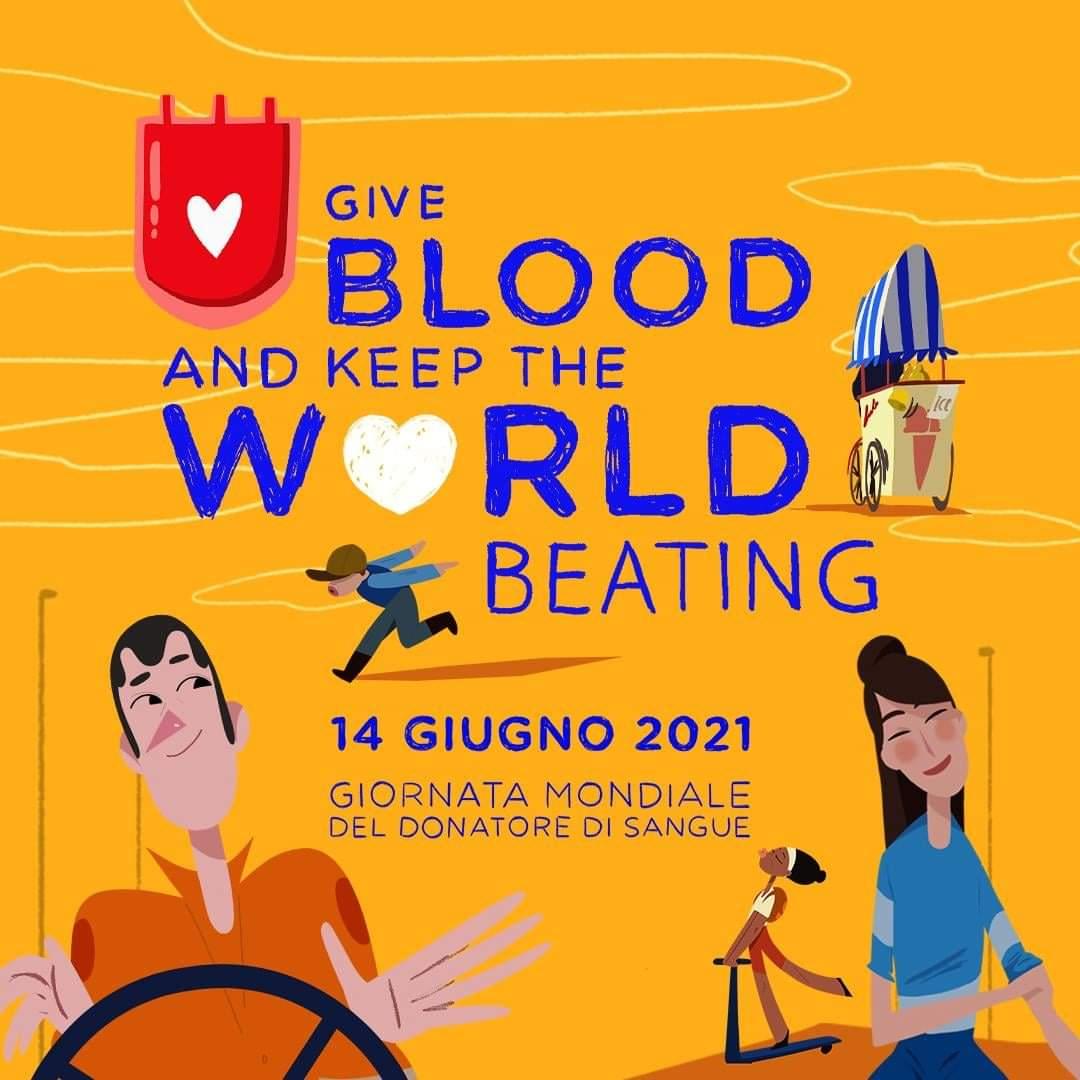 Avis Giornata Mondiale del Donatore di sangue 2021